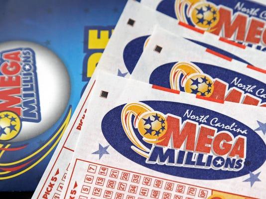 Mega Millions Ticket North Carolina