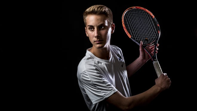 Port Huron Northern senior Chris Adams is the Times Herald Tennis Player of the Year.