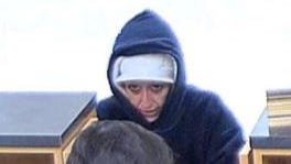 The Waukesha Police Department is searching for a bank robbery suspect.