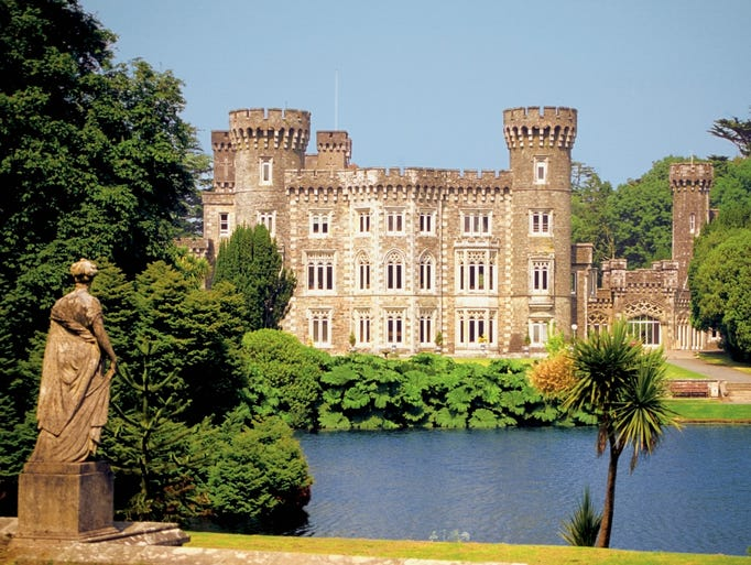 Johnstown Castle, County Wexford.