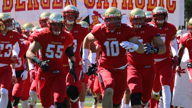 Bergen Catholic is 4-0 for the first time since 2008 after wins over Archbishop Wood, Tampa Catholic, DePaul and Paramus Catholic. Here's a look back at the Crusaders' undefeated start.