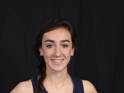 Caroline Timm won the Dan Purdy Invitational in Pawling on Saturday. She is seen here in a portrait from last year's all-star section.