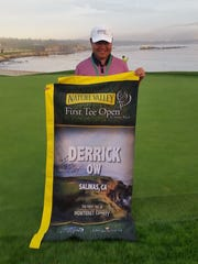 Derrick Ow played in the 2015 First Tee Open representing the First Tee of Monterey County.