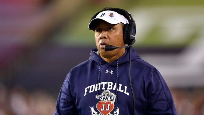 Navy Midshipmen head coach Ken Niumatalolo as Arizona Wildcats football coach?