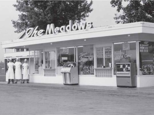 The original Meadows custard stand.