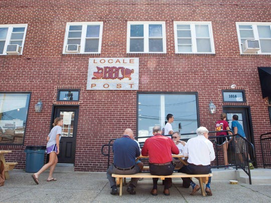 Locale BBQ Post in Wilmington opened on Aug. 17 and it's been selling out food almost every day.