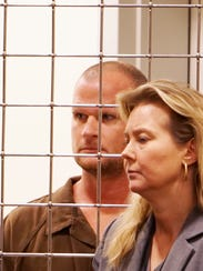 Seth Willis Pickering, 36, appears with LeeAnn Melton,