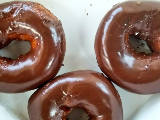 Krispy Kreme's solar eclipse donuts