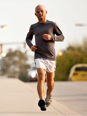 Doug Masiuk, the first person with Type 1 diabetes to run across the United States, will be in Ridgeland on Saturday.