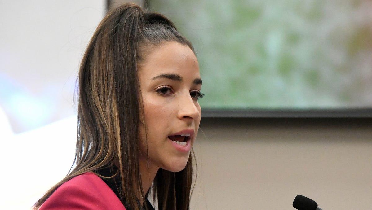 Aly Raisman suing USOC, USA Gymnastics over sexual abuse
