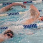 Fossil Ridge and Rocky Mountain swimmers compete in local meet
