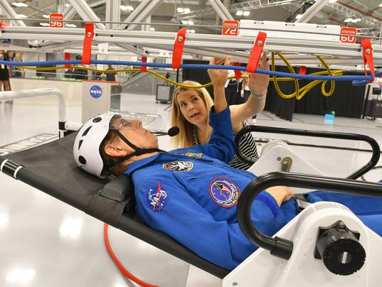 Astronaut Training Experience ayt KSC Visitor Complex