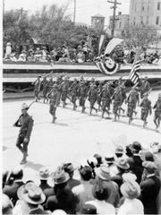 El Paso's Preparedness Parade, June 14, 1916. Besides