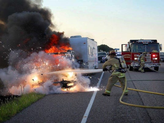 Burk Vehicle Fire Cleaver