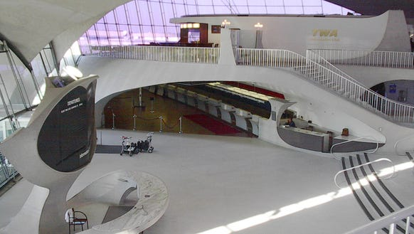 Jfk 39 s iconic twa terminal to become a hotel complex for Jfk airport hotel inside terminal