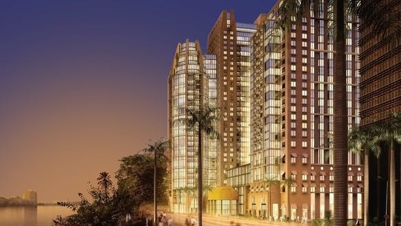 The St  Regis Cairo is set to open in Egypt s capital. Marriott to open more luxury hotels next year