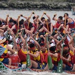 Teams of 20 people are ready to race their dragon boats on Sept. 6 at the first Dragon Boat Festival at Bayview Park.