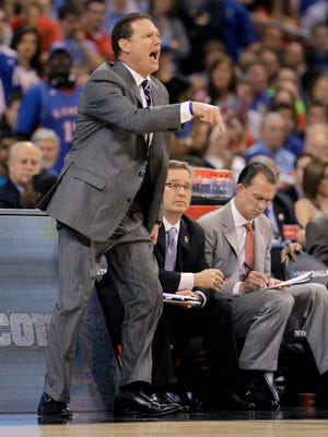 Coach Bill Self will lead the NCAA Tournament's overall No. 1 seed Kansas into first-round action against 16 seed Austin Peay on Thursday in Des Moines, Iowa.