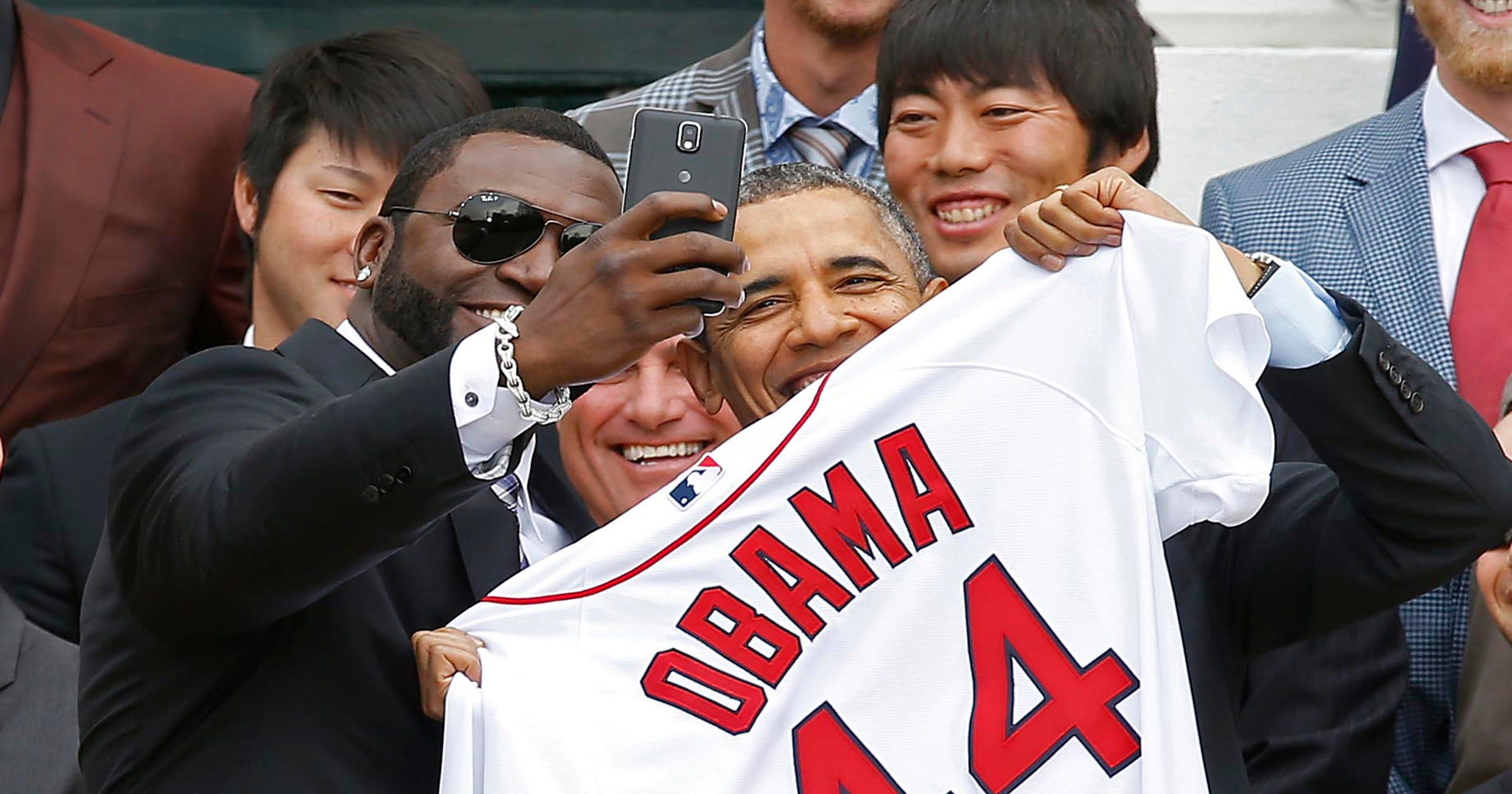 545e3c15170 David Ortiz claims selfie with Obama was organic