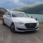 2017 Hyundai Genesis G90 with every amenity possible