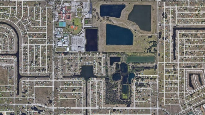 The area bound by Tropicana and Embers parkways, Nelson Road and Chiquita Boulevard includes one of Cape Coral's biggest tracts of undeveloped land.