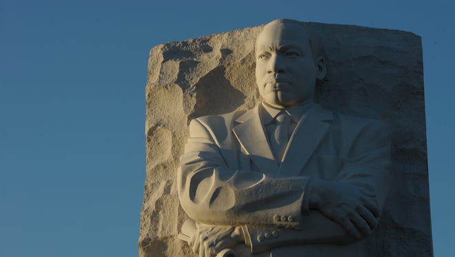 The Martin Luther King Memorial in Washington