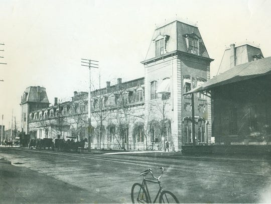 Richmond's second depot, built in 1872 and replaced