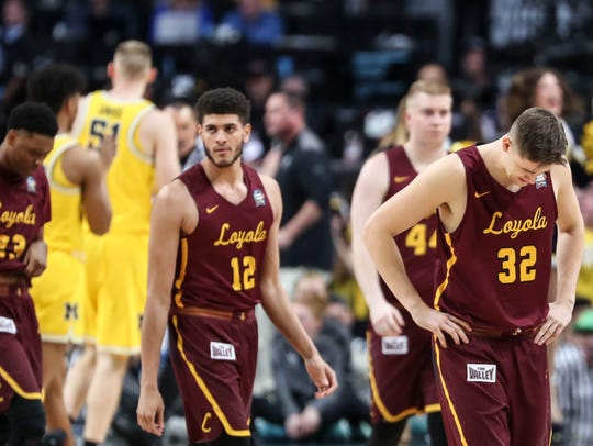 Loyola Chicago's storied NCAA tournament run came to