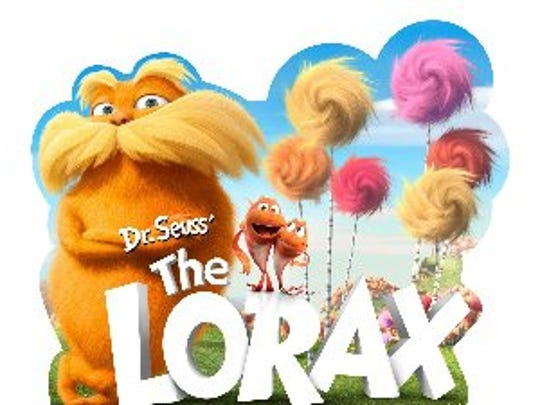 The Lorax is showing for $5 at Marcus Theatres Oct. 26-Oct. 29.