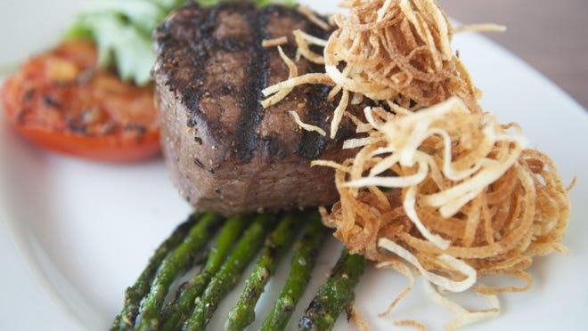 The filet mignon at Redz Restaurant in Mount Laurel is a stand-out on the menu.
