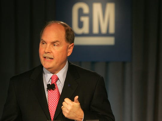 Fritz Henderson, then president and CEO of General