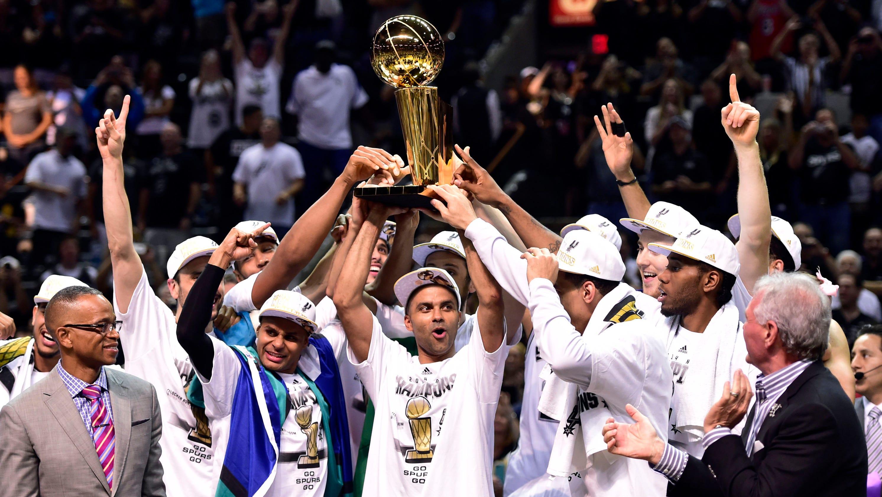 2014 NBA Finals: San Antonio Spurs vs. Miami Heat