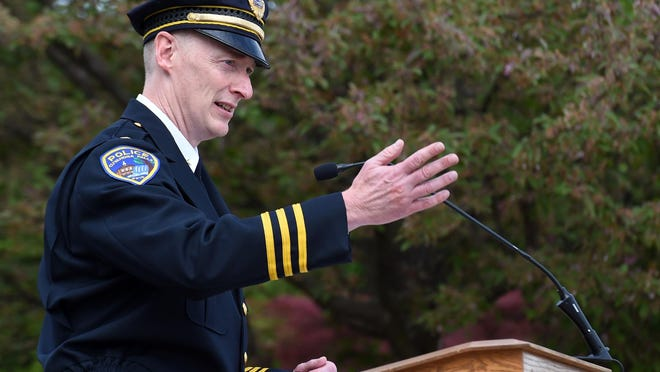 """Cuyahoga Falls Police Chief Jack Davis says police actions in the George Floyd video are a """"stain on the profession."""""""