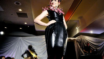 A Project Runway-style event at Asheville Community Theatere featured designer Charles Joseph's work.