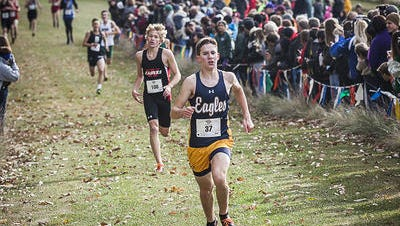 Delta's Cade Orchard finished in the final individual spot in the New Haven Semistate and will race in the state championship