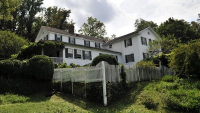 Sherrill's Inn in Fairview is among the oldest structures in Buncombe County.