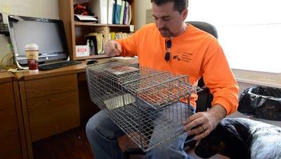 Fairfield Area Humane Society Executive Director Corey Schoonover.