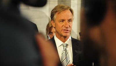 Gov. Bill Haslam says he does not plan to pursue domestic benefits for same-sex couples and doubts the legislature would either. (FILE PHOTO)