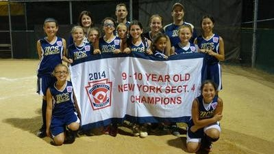 The New City/Suffern 9-10 Little League softball all-stars will begin pool play in the state tournament on Saturday at Heroes Field in Nanuet. The team won the Section 4 title on Tuesday.