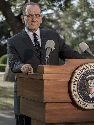 "Bryan Cranston reprises his role as President Lyndon B. Johnson in the HBO Films, ""All the Way"" on May 21, 2016, on HBO."
