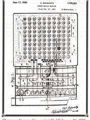A copy of a drawing of another of Schwartz's invention,