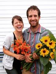Danielle and Mark of Stonecrop Garden.