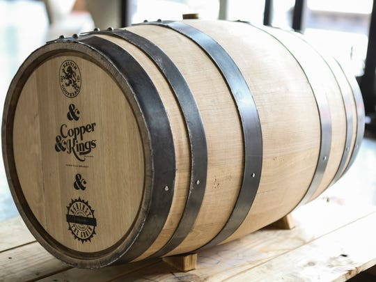 Copper & Kings partnered with Against the Grain to distill one of the brewery's most popular beers, Bo & Luke. The end product will be a whiskey but created with a brandy process. The barrel will be custom to ensure that the aging process doesn't override the distinct flavors from AGT's most popular beer. Dec. 18, 2015