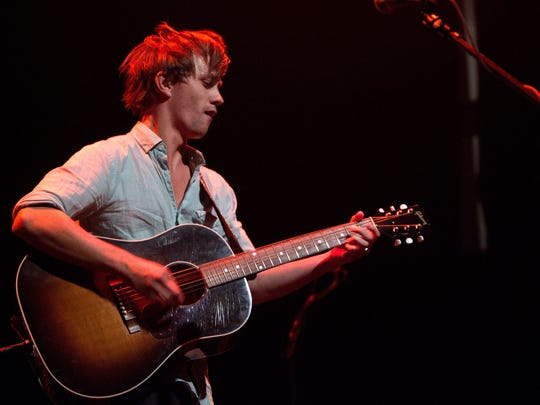 Sondre Lerche performs at Terminal 5 on August 6, 2010 in New York City.