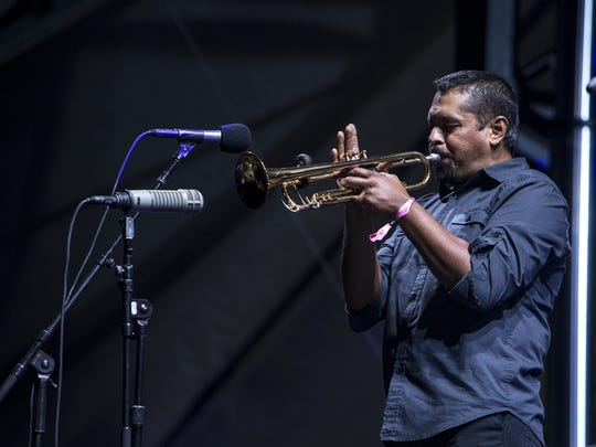 Calexico performs at the Lost Lake Festival at Steele