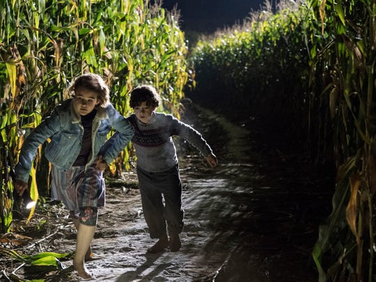 "Millicent Simmonds and Noah Jupe in ""A Quiet Place"" from Paramount Pictures."