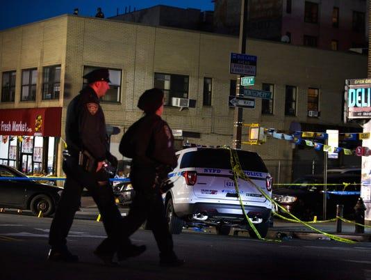 AP POLICE SHOOTING BROOKLYN A USA NY