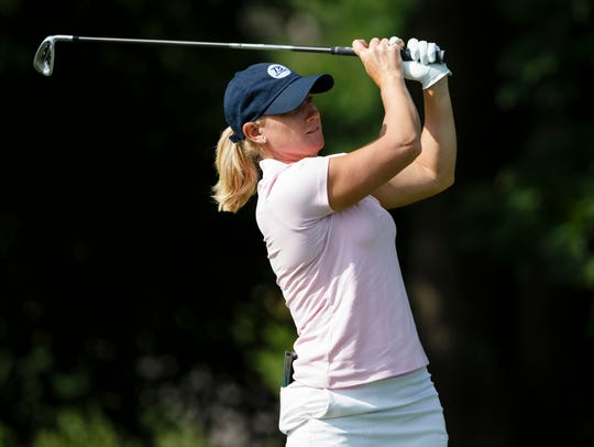 With more than $2.1 million in LPGA Tour earnings, Kristy McPherson has made more money than anyone in the field at the Danielle Downey Credit Union Classic this week.