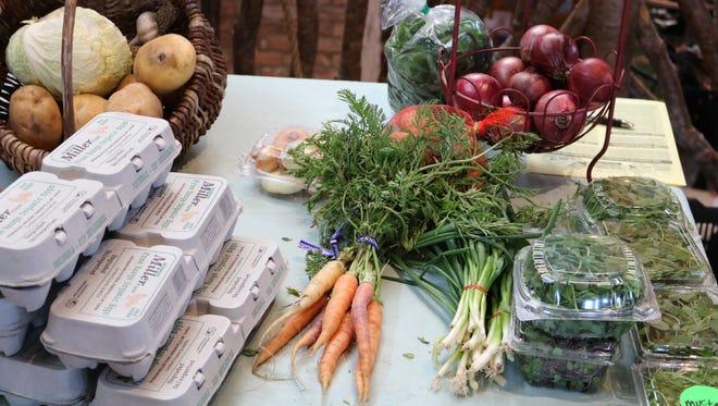 Many CSAs today include eggs along with farm produce.