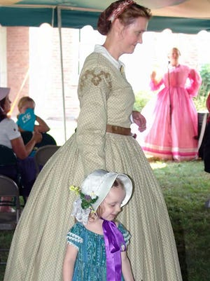 Down on the Farm is the focus of this year's Sunbonnet Days at Fairfield's Gilbert Farms Park. The city's farming days in the 1800s and early 1900s will be featured.